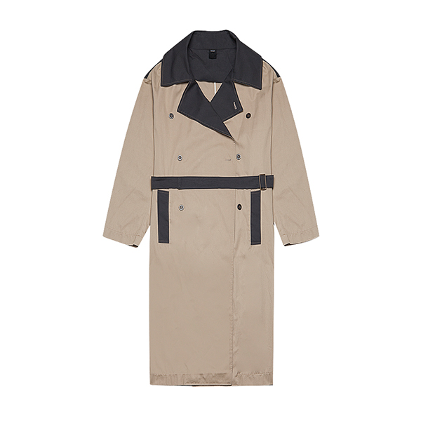[127]COLORATION TRENCH COAT