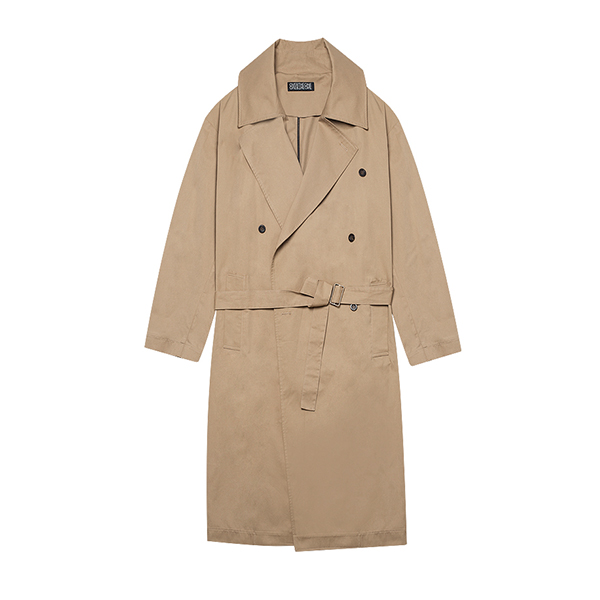 [079]COTTON TRENCH COAT