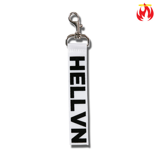 Multi-purpose Point Label Hellvn Keyring - 헬븐키링