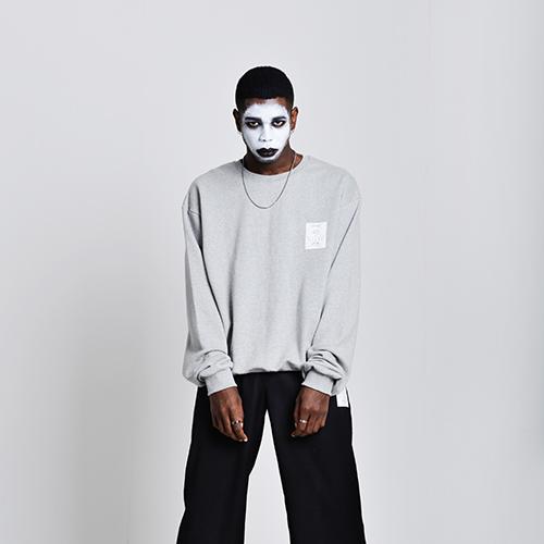 Midweight sweat shirts (gray)