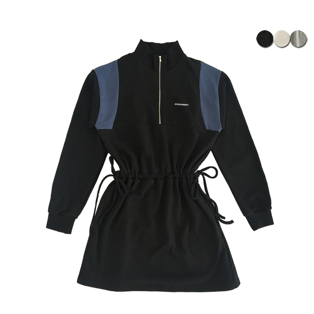 ANORAK SWEAT DRESS(3COLOR)(여성용)