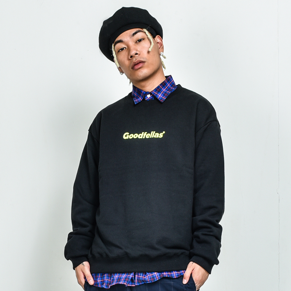 GOODFELLAS Logo Crewneck Black