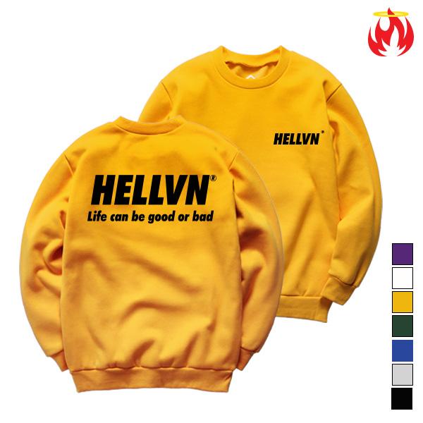 Life Means Hellvn Sweatshirts - 맨투맨 (SBMH8S-022)
