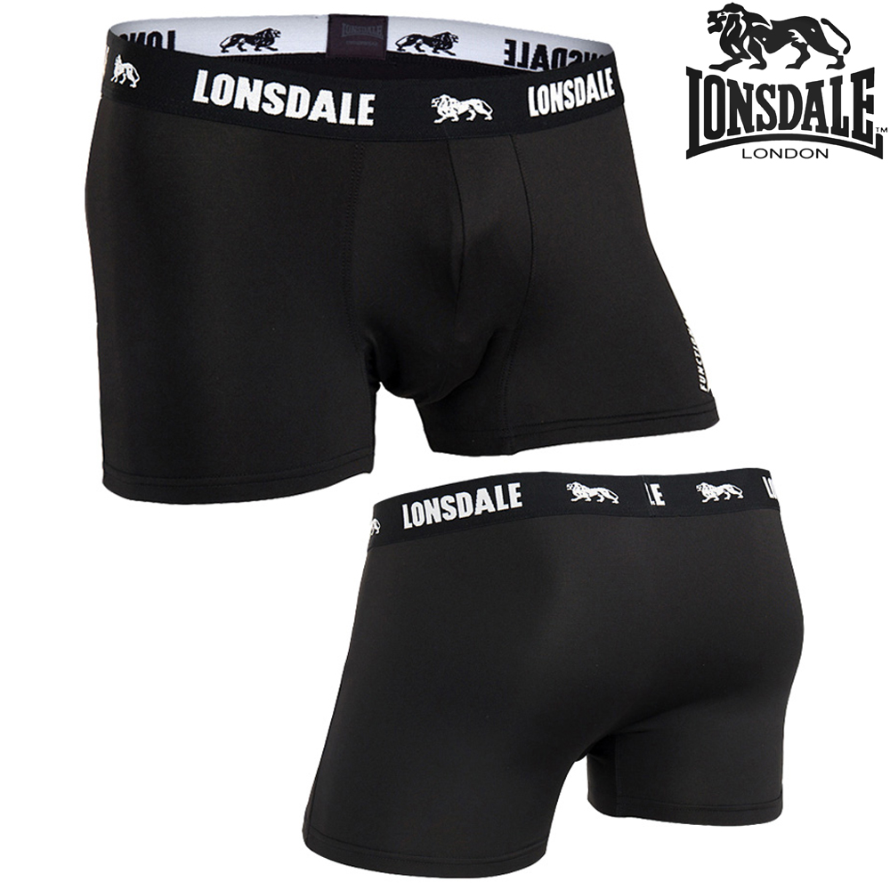 LONSDALE 론즈데일 언더웨어 드로즈 BLACK