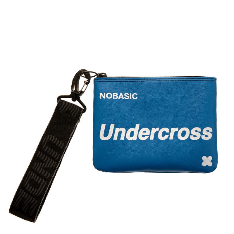 [UNDERCROSS] 핸드 스트랩 파우치 블루