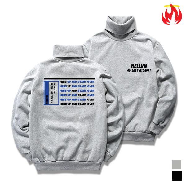 0124971 Hellvn Polo Neck - 목폴라 <SBPH8S-020>