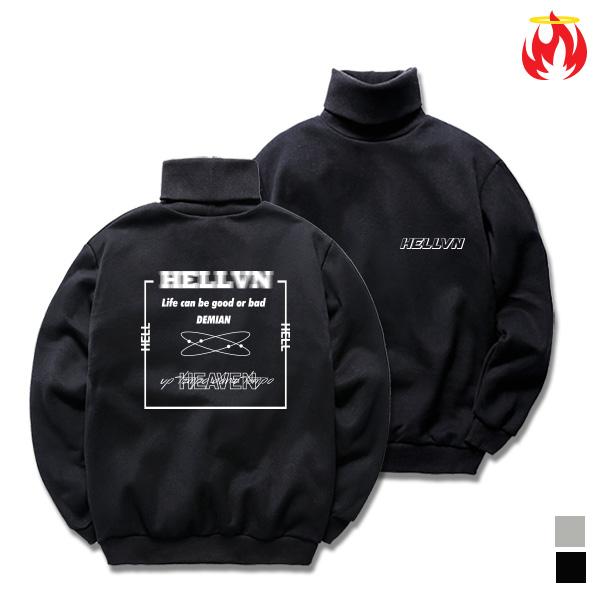 Demian Hellvn Polo Neck - H8S-016 - 목폴라