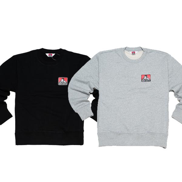 [크루비단독][벤데이비스]화이트 라벨 시티 프린트 스웨트 셔츠 BDZ8-2003 (2COLOR)