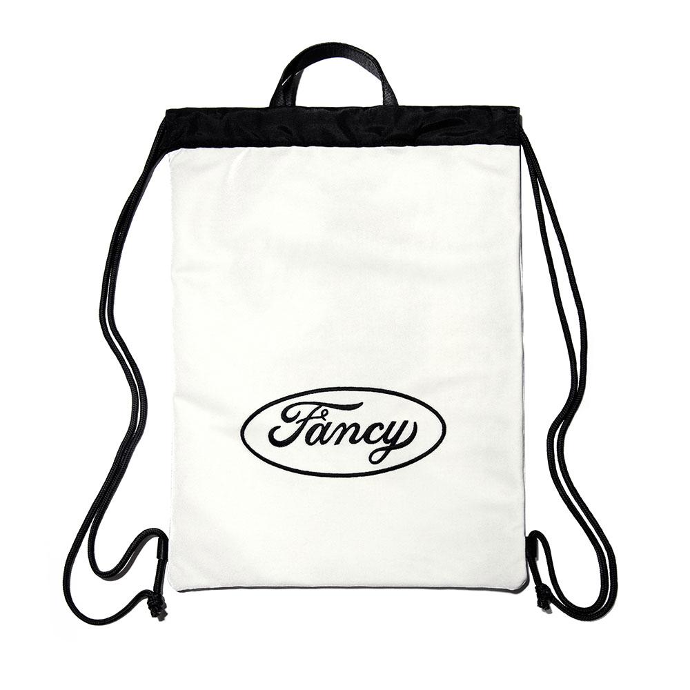 [단독할인]FANCY VELVET GYM BAG WHITE (NF18A081H)