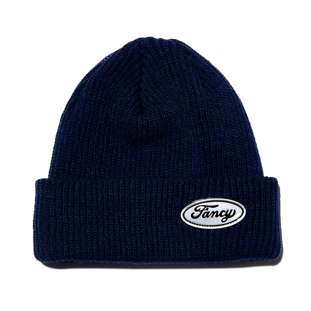FANCY LOGO BEANIE NAVY (NF18A108H)