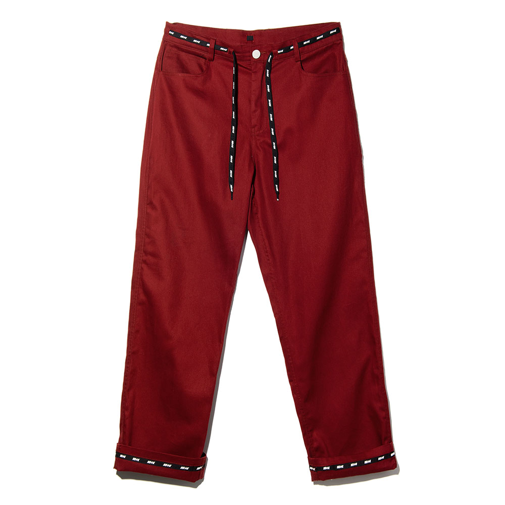 NSTK WRAPT PANTS BURGUNDY (NK18A035H)