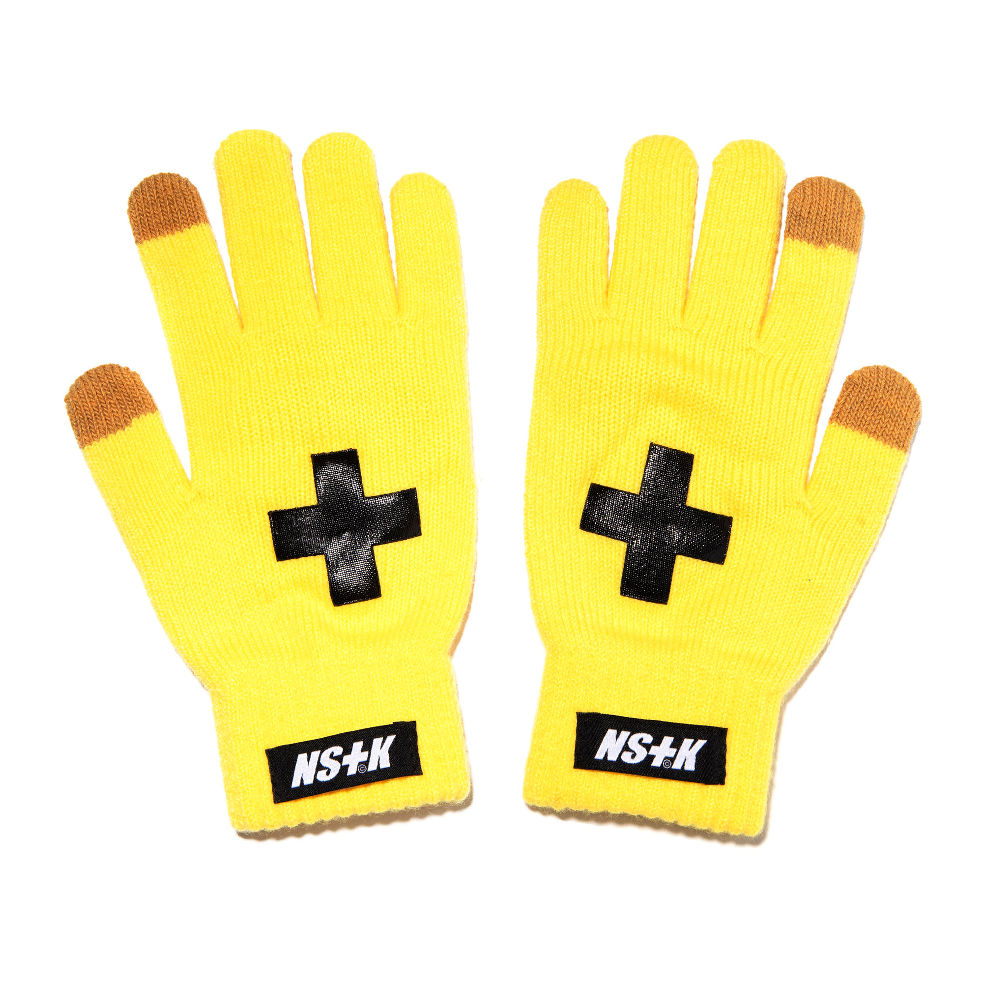 NSTK CROSS GLOVES YELLOW (NK18A101H)