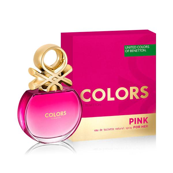 베네통 향수 컬러스 핑크 EDT 50ml