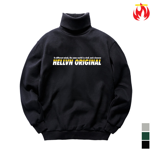 Original Meaning Hellvn Polo Neck - H8S-025 - 목폴라