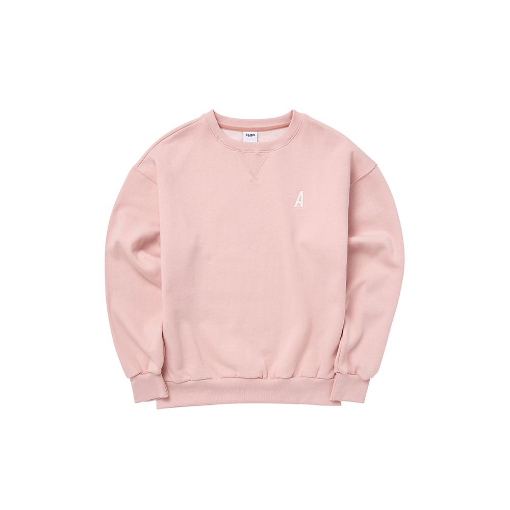 에이라벨 맨투맨 핑크