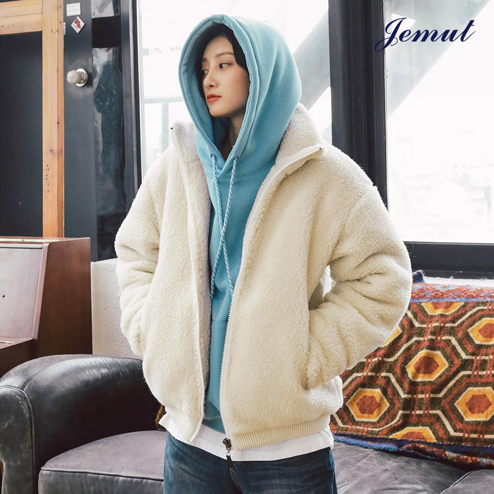 [제멋]  웜스 양털 자켓 3종 아이보리 HJJK2166