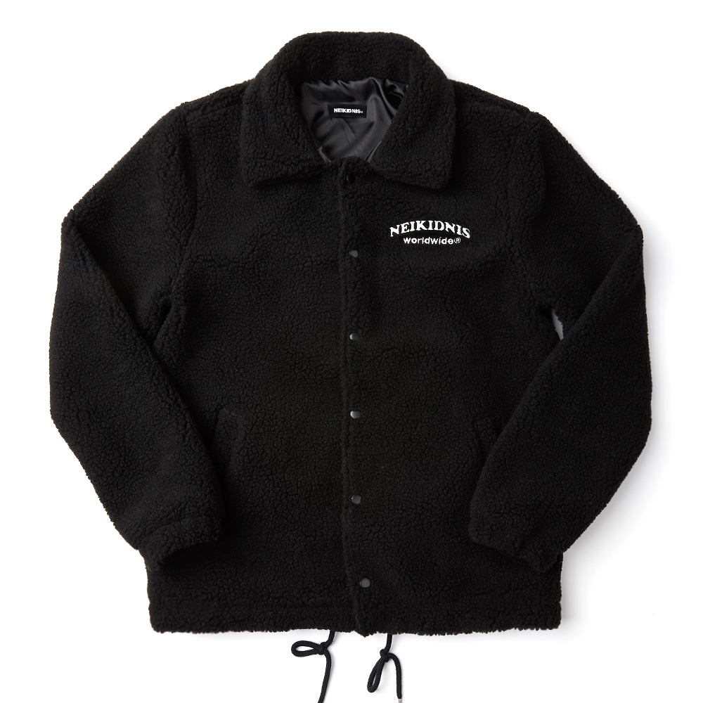 BOA COACH JACKET / BLACK