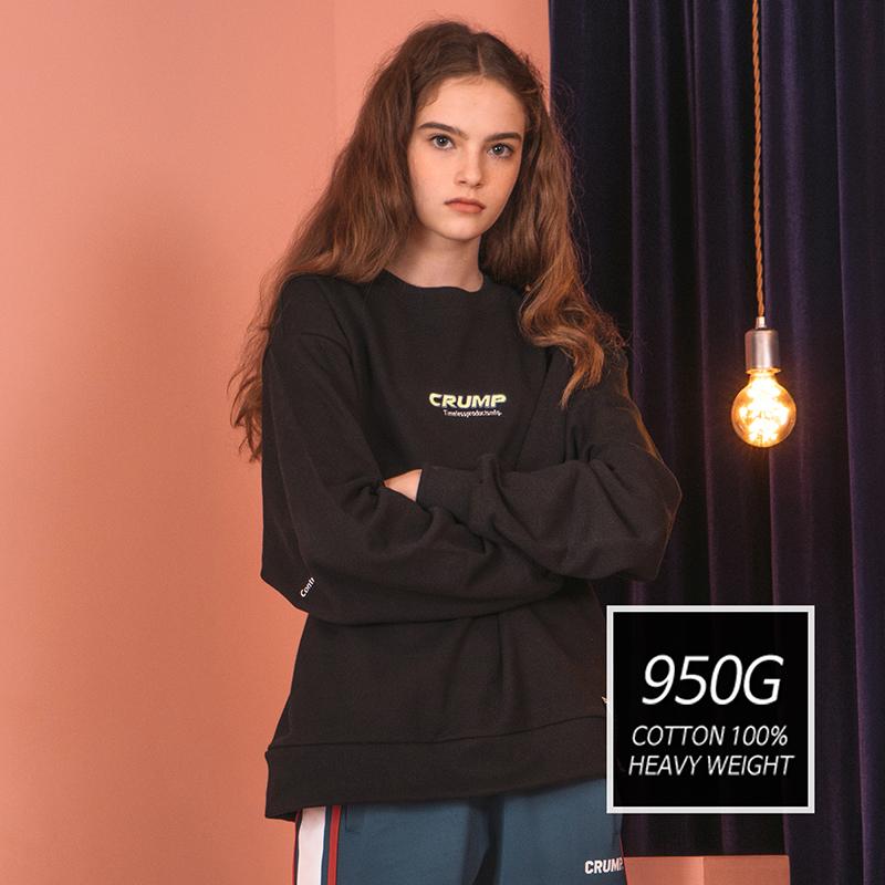 [기모] 950g Crump CIL sweat shirt (CT0172)