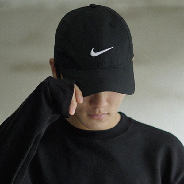 나이키 레거시91 테크 스우시 캡 정품 볼캡 모자 892651 블랙