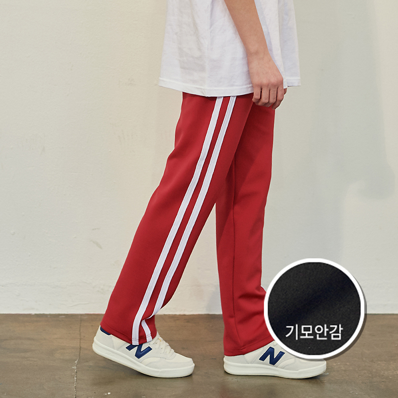 [기모] Crump two line track pants(CP0050g-2)