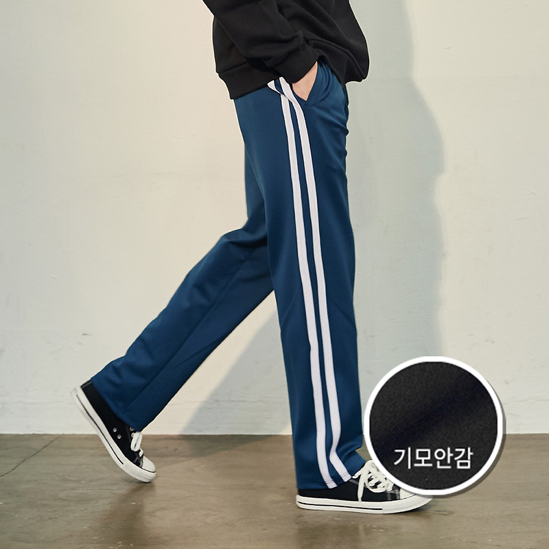 [기모] Crump two line track pants(CP0050g-1)