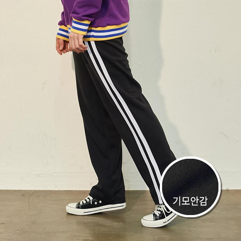 [기모] Crump two line track pants(CP0050g)