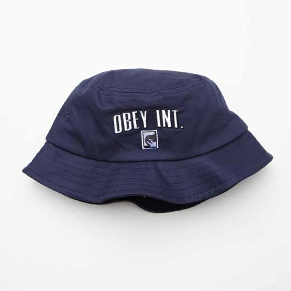 [OBEY] 오베이버킷햇 INTERNATIONAL BUCKET HAT 100520015 NAVY