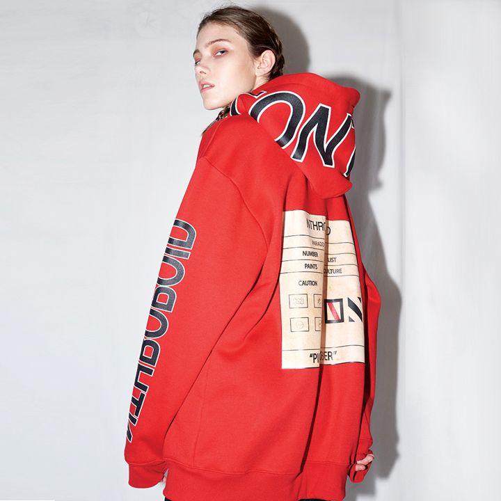 CONTROL HOODY (RED)