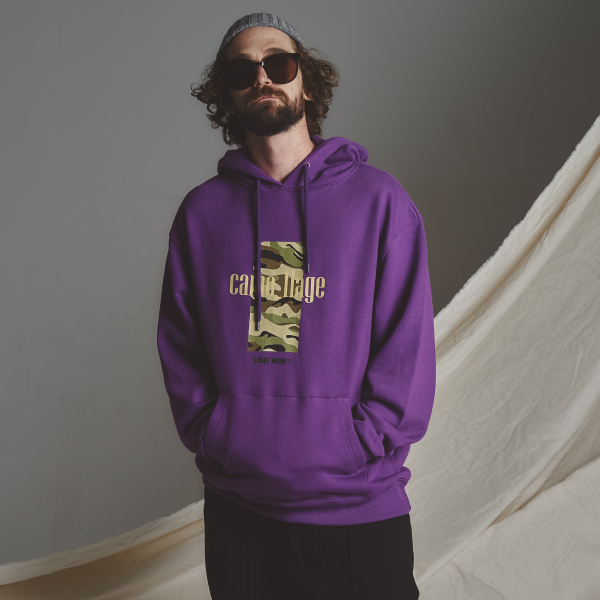 STG camo hoodie_PURPLE