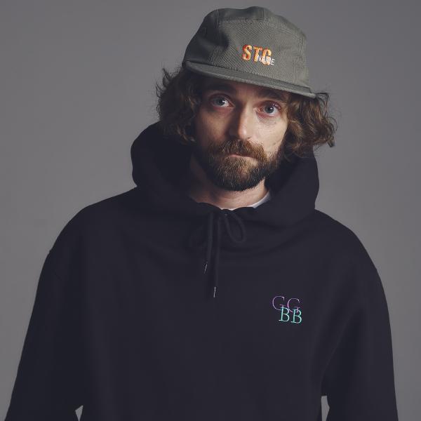 [기모]STG GGBB hoodie_BLACK