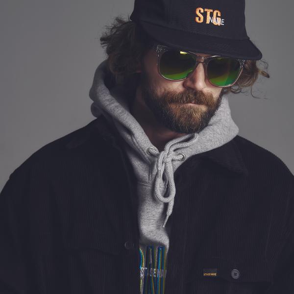 [골덴]STG corduroy shirts jacket_BLACK