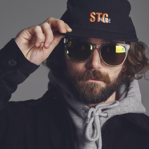 [5패널]STG signature camp cap_BLACK