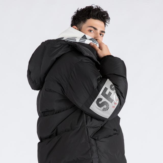 [단독할인]ICEFIELD GOOSE DOWN JUMPER (SAW2DJ03) (BLACK)