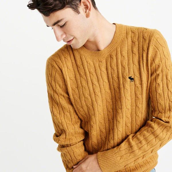 [해외]아베크롬비 아이콘 케이블 니트 스웨터 5종