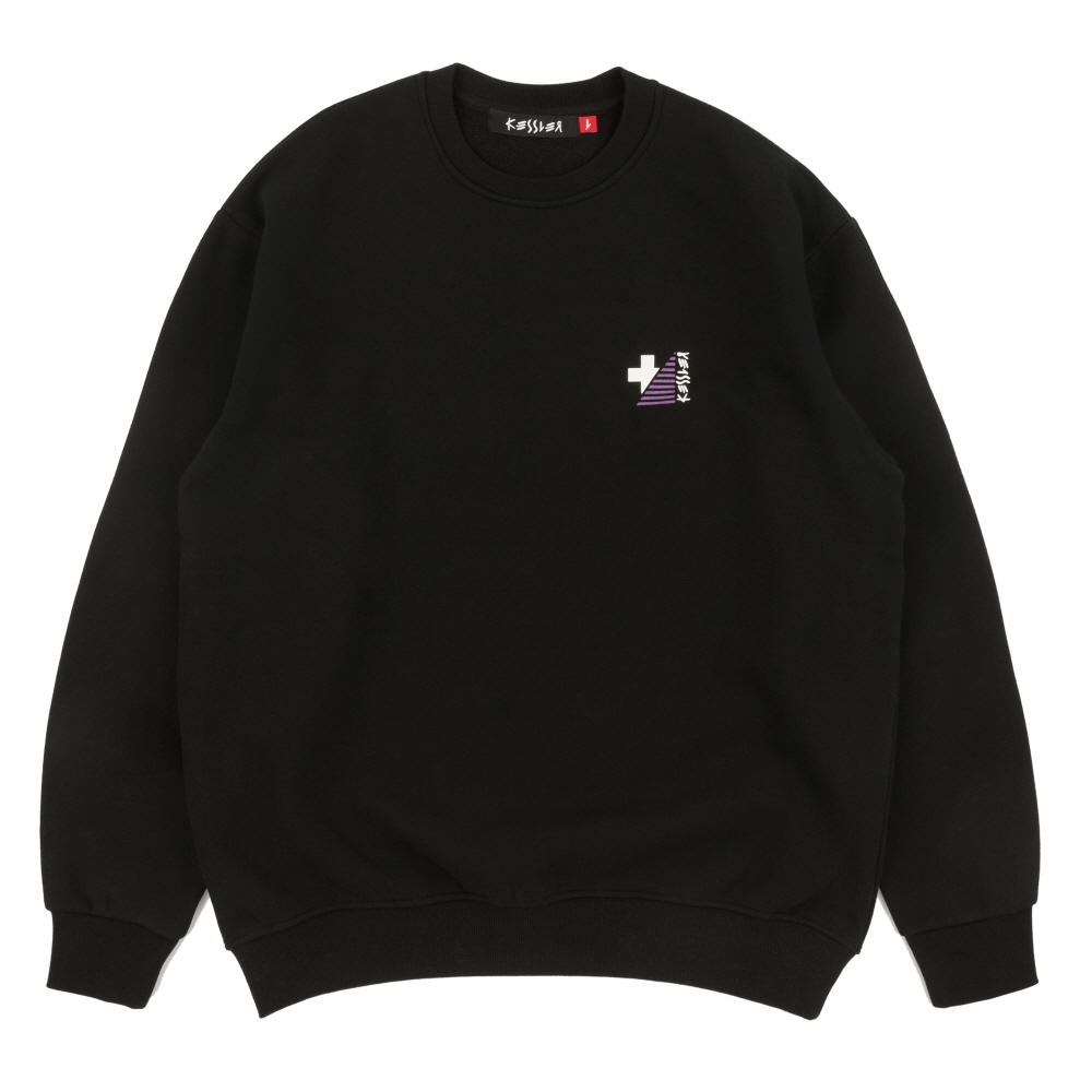 [케슬러] KESSLER - PERFORMANCE SWEATSHIRT (BLACK) 기모 맨투맨 스웨트셔츠