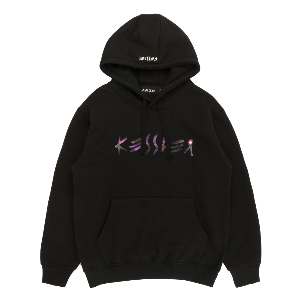 [케슬러] KESSLER - HOODED PASSION SWEATSHIRT (BLACK) 기모 후드 스웨트셔츠