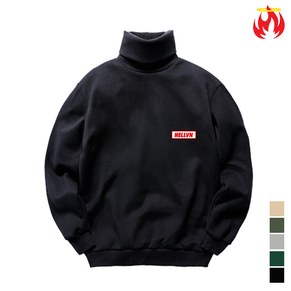 Mini Logo Hellvn Polo Neck - H8C-401 - 목폴라