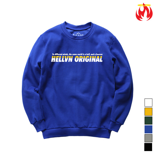Original Meaning Hellvn Sweatshirts - 맨투맨 <SBMH8S-025>