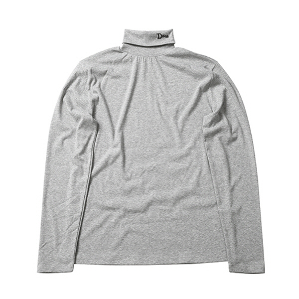 Logo turtleneck [ grey ]