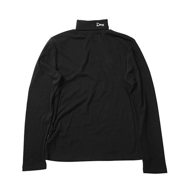 [엑소 수호 시우민 트와이스모모 인투잇 지안 착용] Logo turtleneck [ black ]