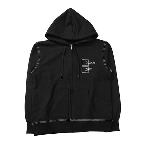 [JBJ/핫샷 노태현 착용] DXOH hoodie zip-up [ black ]