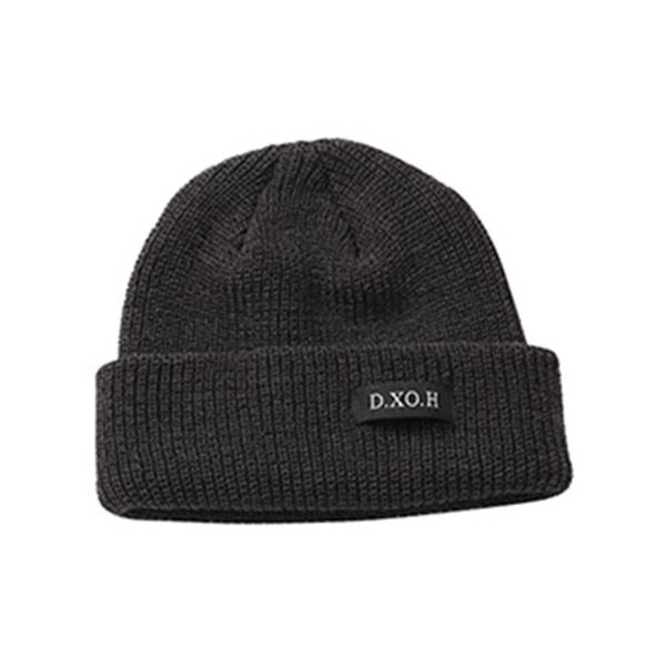 [엑소 카이 착용] Logo beanie [ dark grey ]