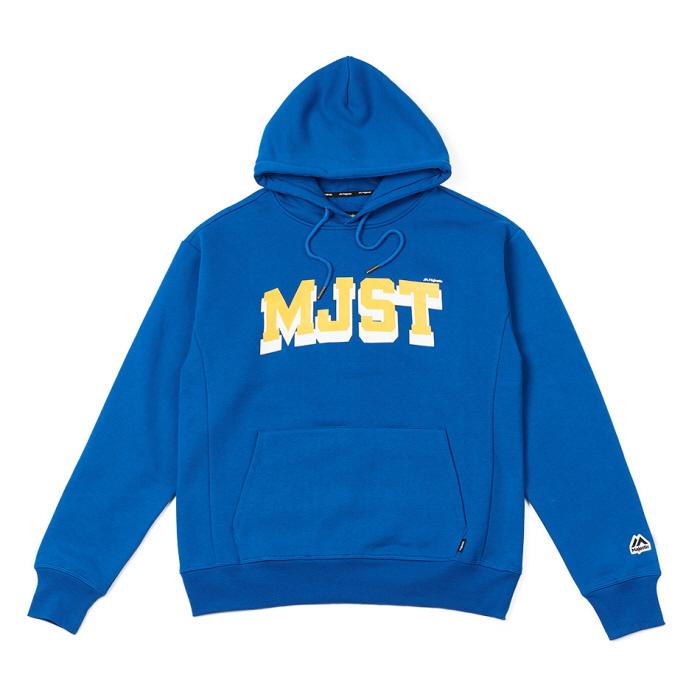 [MAJESTIC] ML183UCAMT010 MJST 로고배색 후디드 스웨트셔츠 (블루)