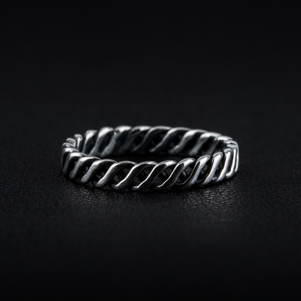 Twisted Ring [925Sterling Silver]
