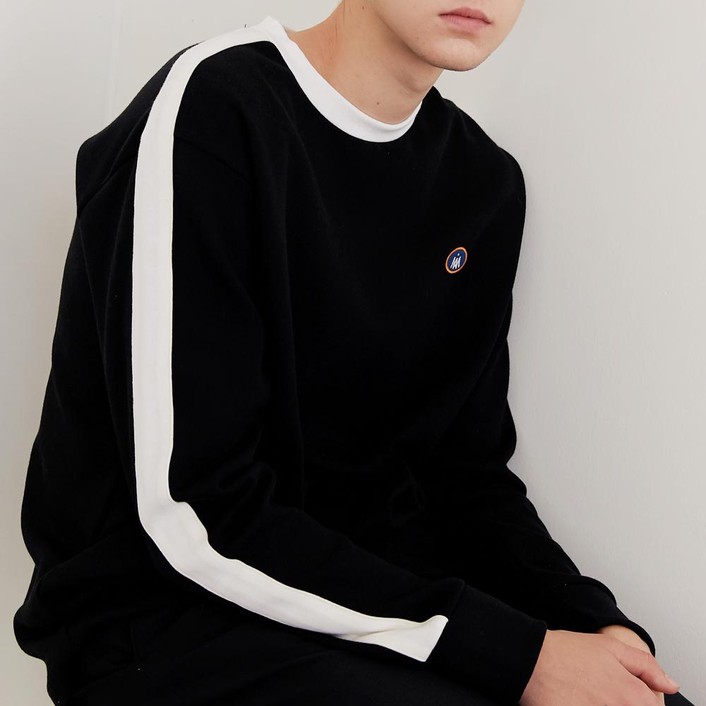 Line - T shirt (Black)