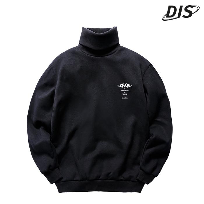 (한정수량) 디씬 - over logo 목폴라- 3color - 디씬-8f-302