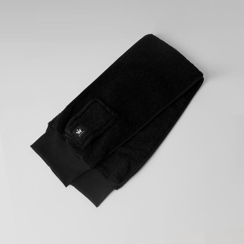 DUMBLING SHORT MUFFLER (BLACK)