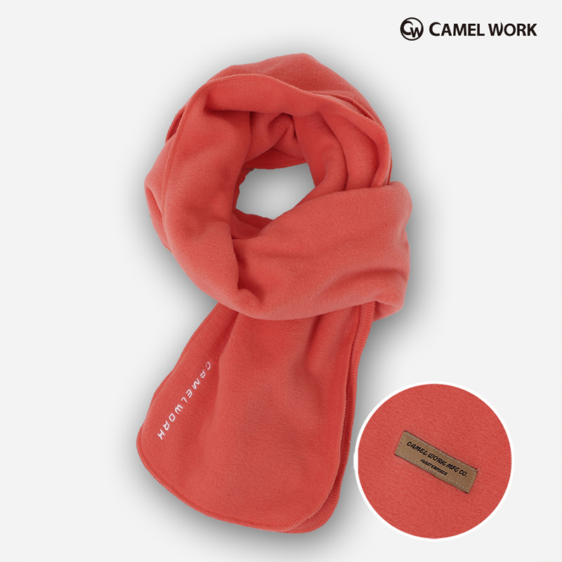 Reversible Fleece Muffler(Peach)