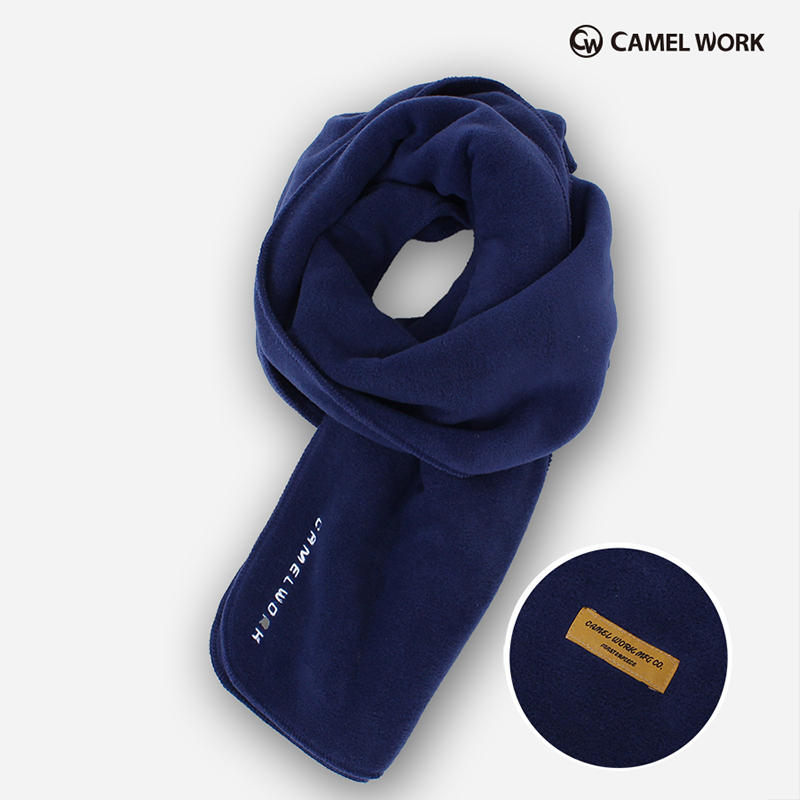 Reversible Fleece Muffler(Navy)