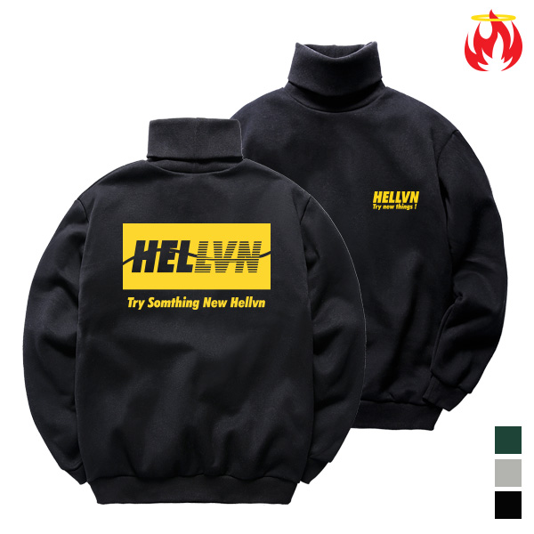Try Something Hellvn Poloneck - H8S-033 - 목폴라